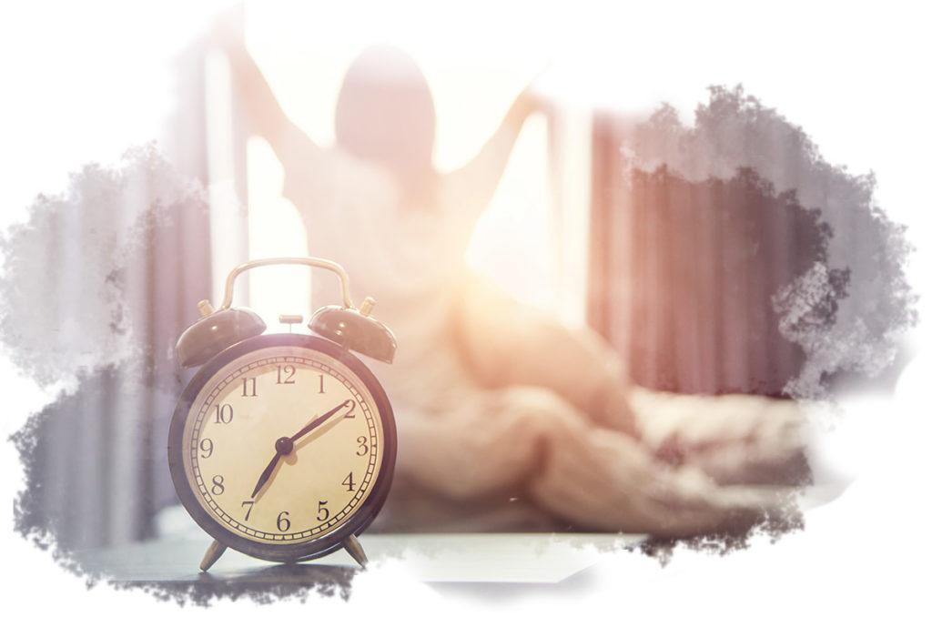 Caen - Sophrologie du sommeil - photo d'un réveil paisible